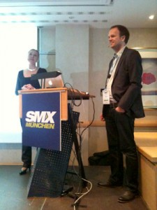 Ludwig Coenen und Julia-Bhnisch - SMX-2012